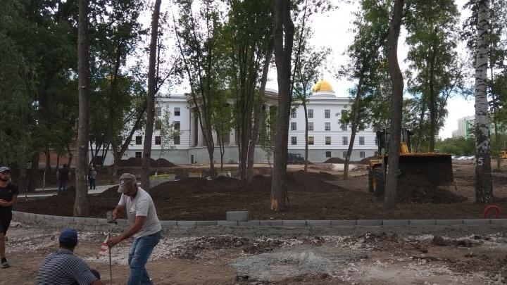 К концу лета в Промышленном районе благоустроят новый сквер