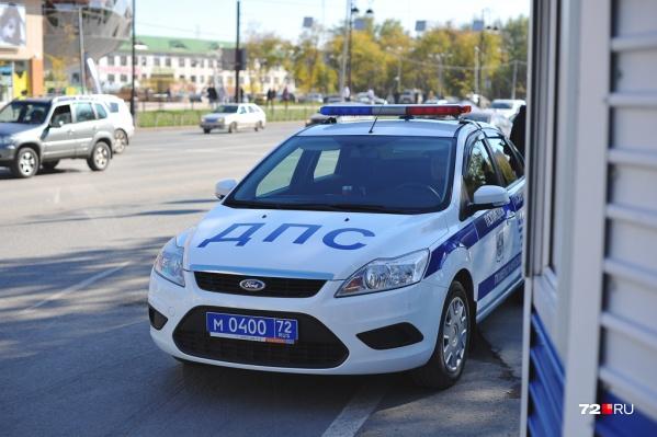 На место аварии вызвали сотрудников полиции