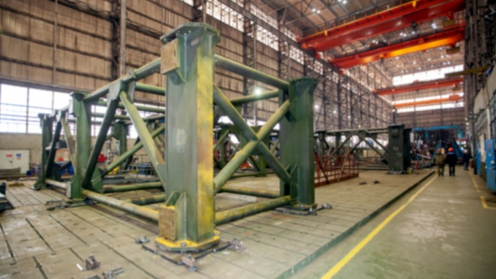 В Самарской области начали собирать семнадцатиэтажную башню для космодрома Восточный