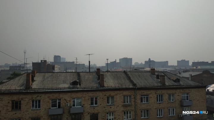 Экологи назвали состав пыли, которой дышали красноярцы во время лесных пожаров
