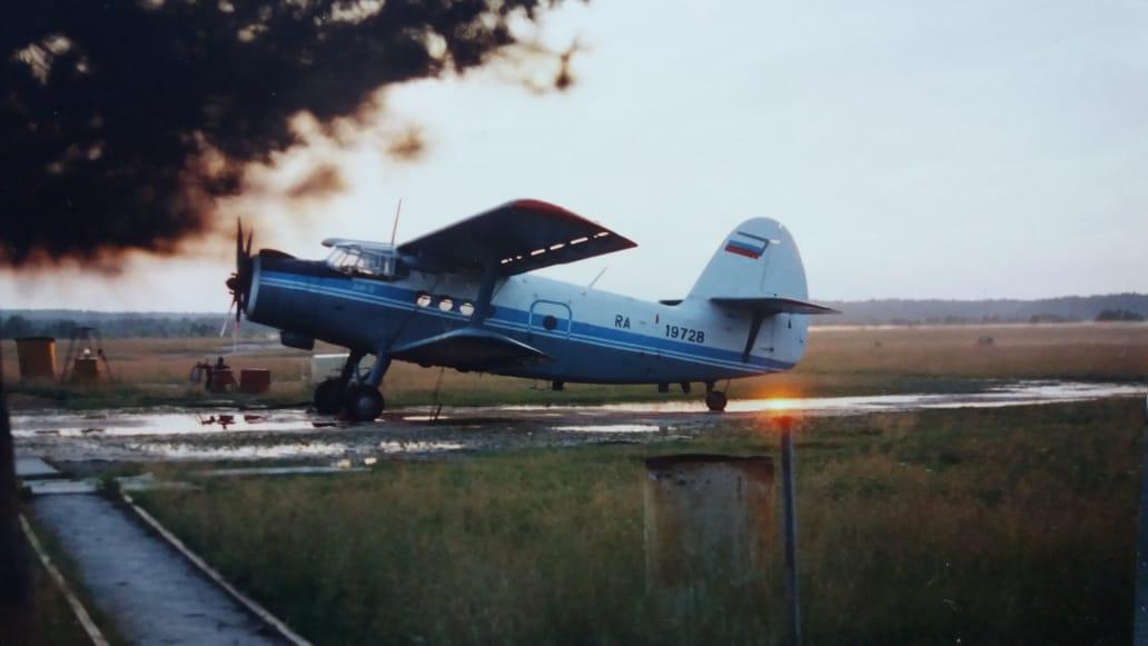 На таких машинах летали с Уктусского аэропорта