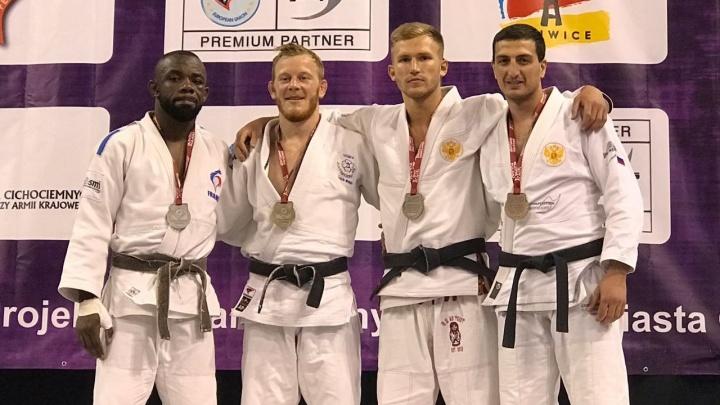 Новосибирский спортсмен взял бронзу в Польше, несмотря на серьёзную травму
