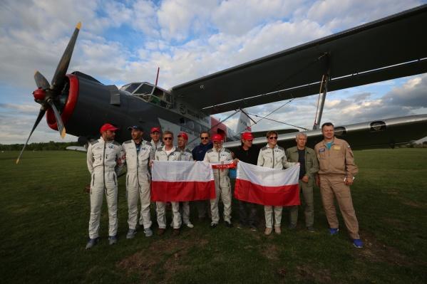 Экипаж самолёта Ан-2