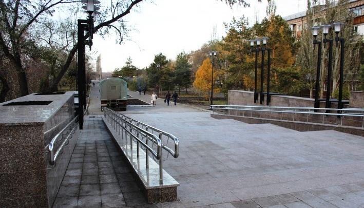 На бульваре Победы появится зона для детских игр
