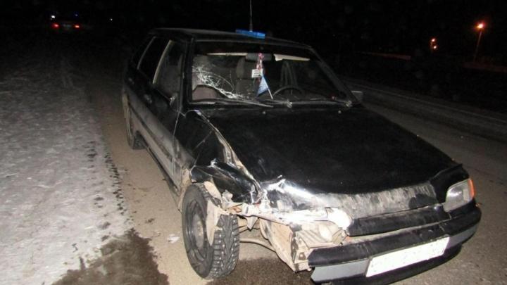 На трассе в Башкирии легковушка насмерть сбила женщину