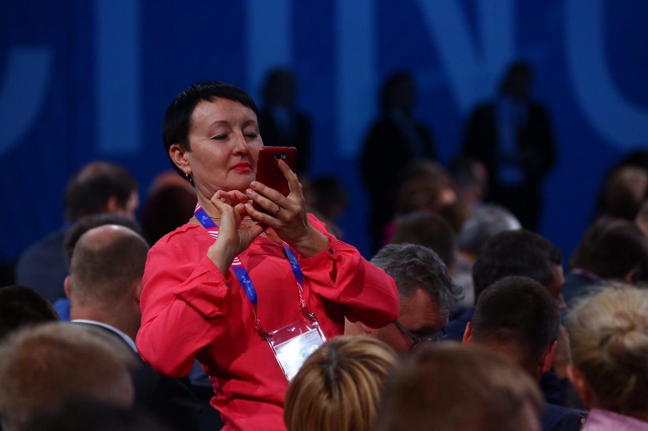 Путин выступал перед учеными, чиновниками и бизнесменами