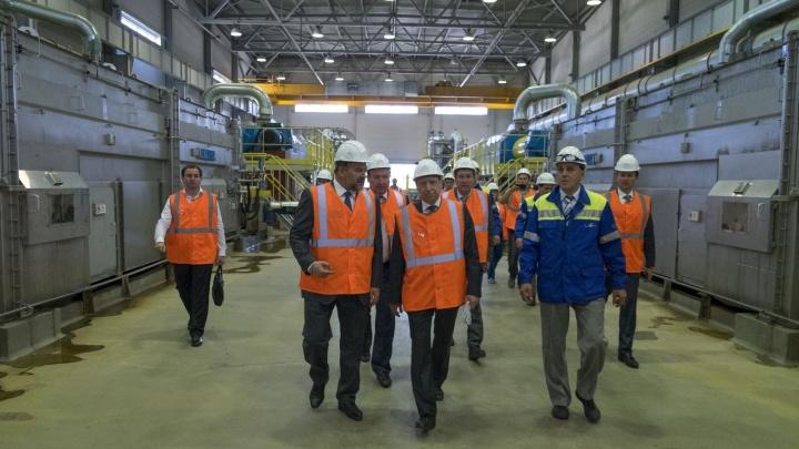 Полпред президента РФ в СЗФО посетил с рабочим визитом Архангельский ЦБК