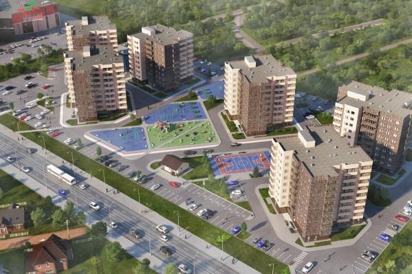 Удобный во всех смыслах проект украсит заречную часть города