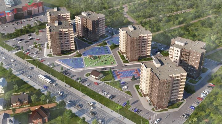 Апартаменты с видом на салют: стало известно, как застроят участок перед ТРЦ «Панама»