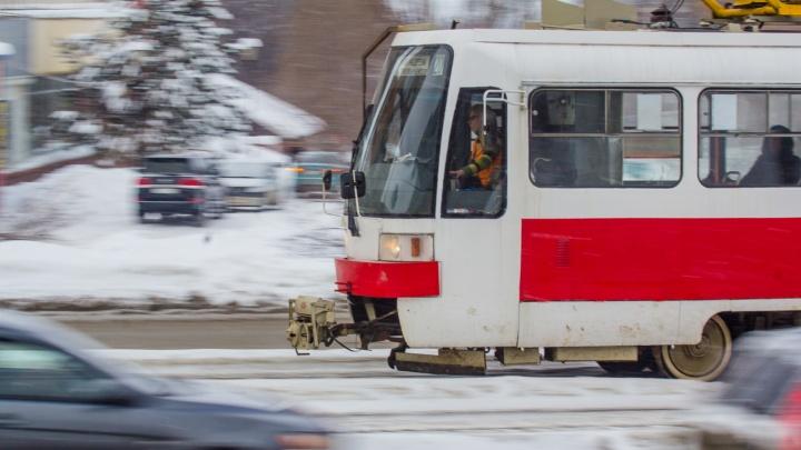 Трамваи №11 и 12 продлят от Авроры до «Самара Арены»