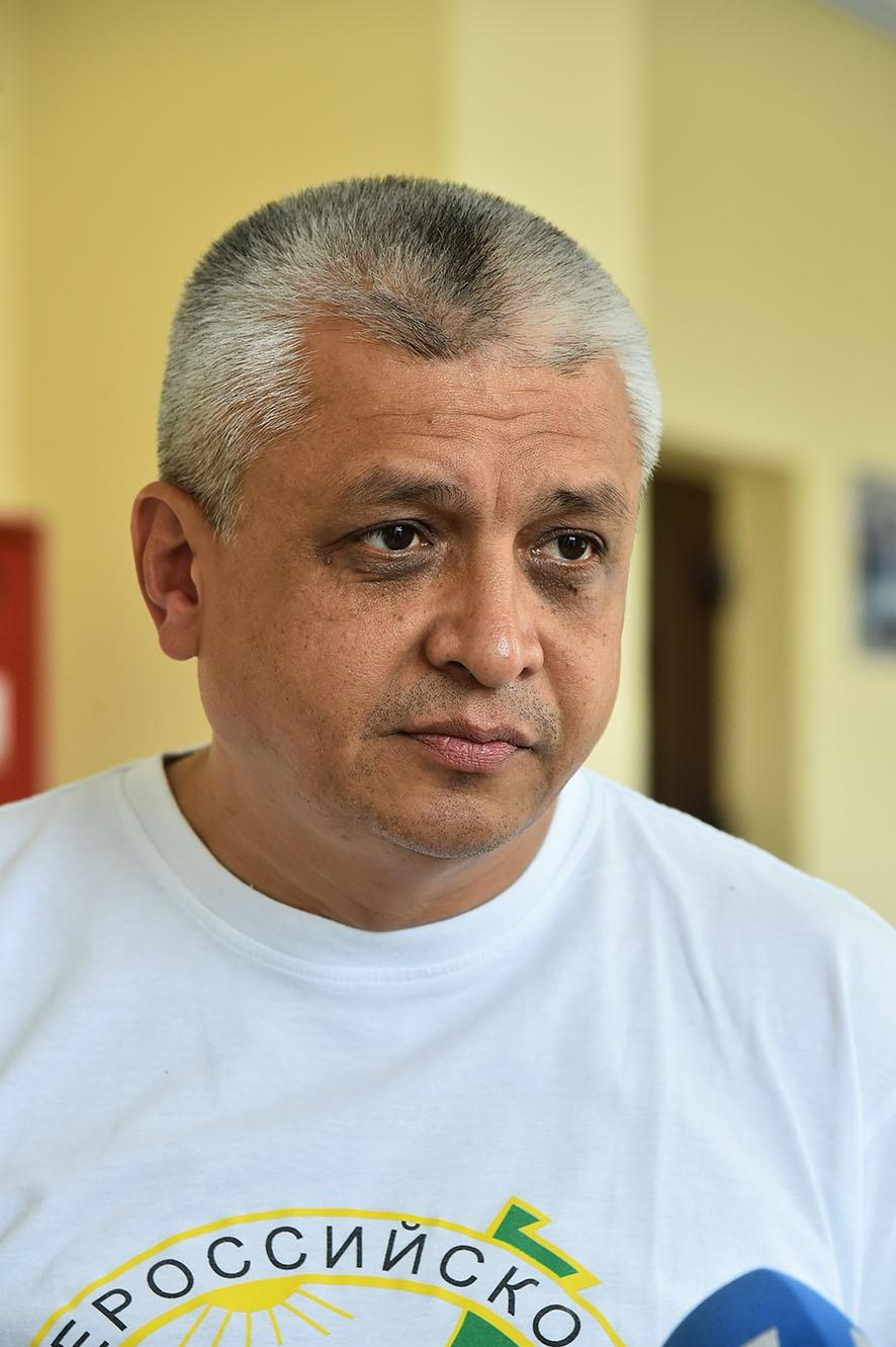 Лидер Всероссийского общества охраны природыЭлмурод Расулмухамедов