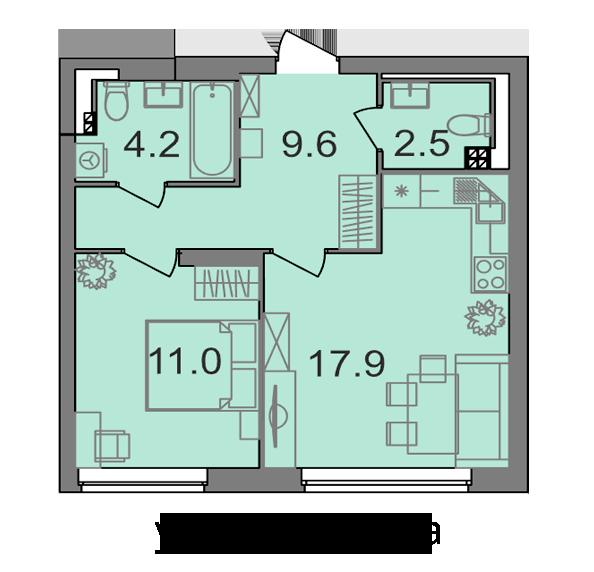Во всех квартирах будут кухни-гостиные