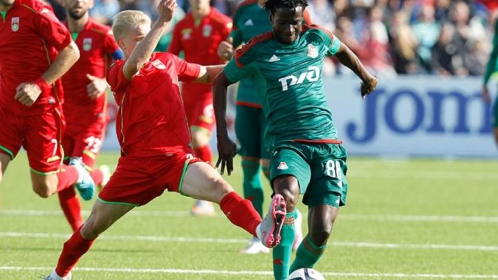 Футболисты «Уфы» сразятся с московским «Локо»