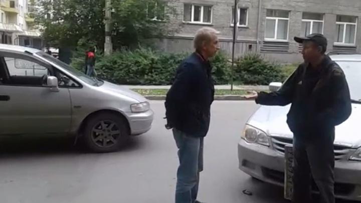 Новосибирцы задержали пьяного виновника аварии