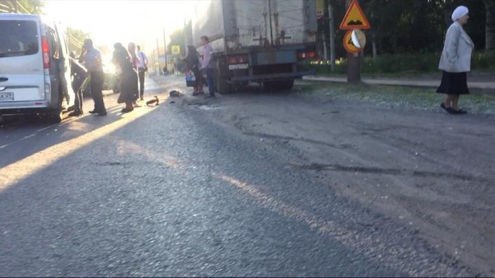 Полиция: водитель, сбивший четверых детей в центре Архангельска, был трезв