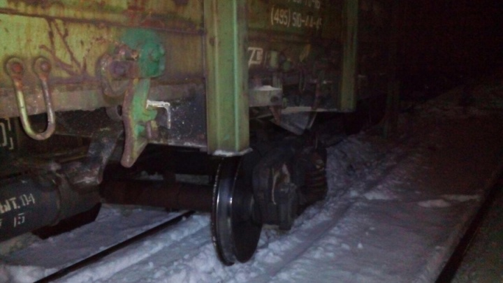 Следователи назвали виновного в аварии под Билимбаем, где опрокинулись вагоны со щебнем