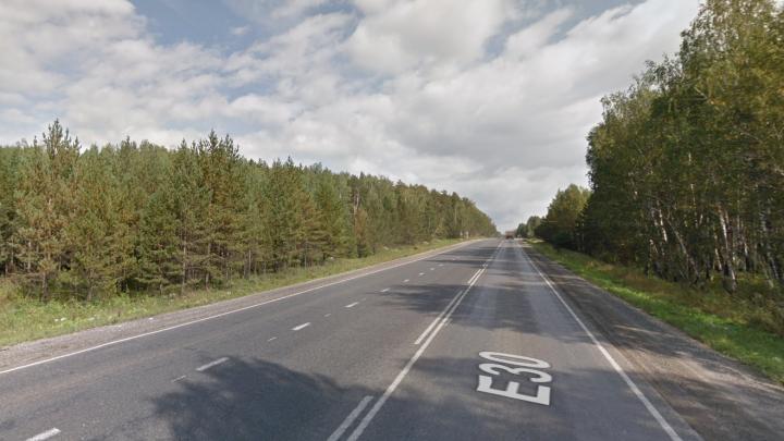 Автомобилист погиб на трассе М-5 в Челябинской области, сбив лося и врезавшись во встречный грузовик