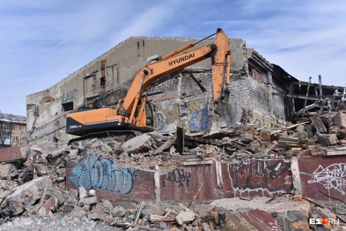 «Темп» был построен в стиле конструктивизма, жилье на его месте хотят возводить в том же стиле