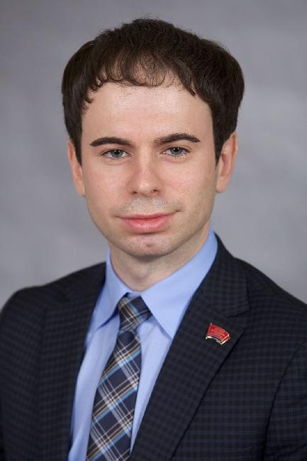 Депутат Законодательного собрания Егор Бондаренко