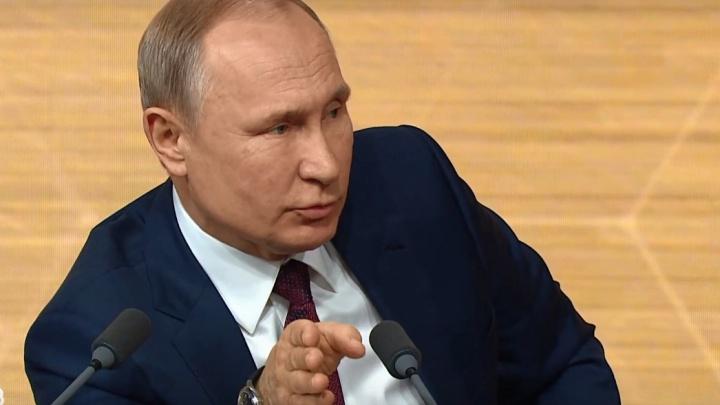 Путин пообещал решить проблему с метро в Красноярске раньше, чем в Екатеринбурге