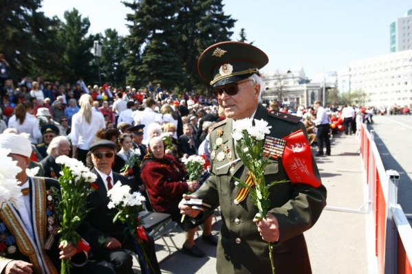 В Челябинске — 484 участника Великой Отечественной войны