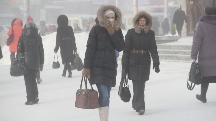 Уже замерзаем: к Новосибирску приближаются 40-градусные морозы