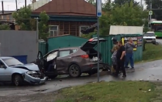 Во втором за день ДТП на Щербакова пострадали три человека