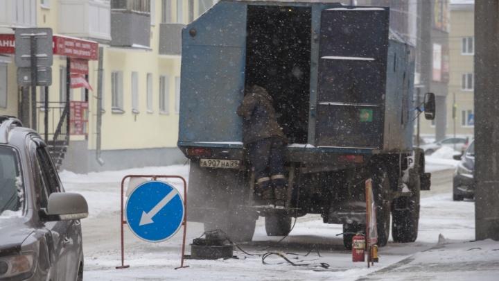 Сульфат без воды, центр города без света: где в Архангельске ремонтируют коммунальные сети