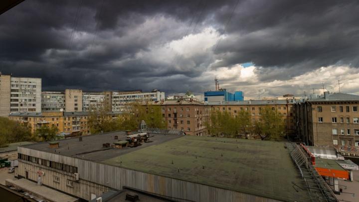 Неустойчивая погода с грозами принесет похолодание в НСО