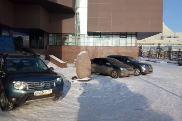 В конце ремонта тут появятся знаки, которые запретят парковку, пообещали в Музейном центре