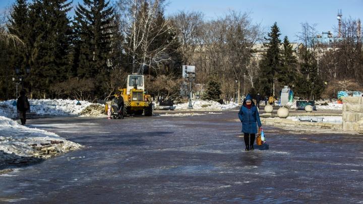 Холод, снег и гололёд: похолодание в Новосибирске затянется на несколько дней