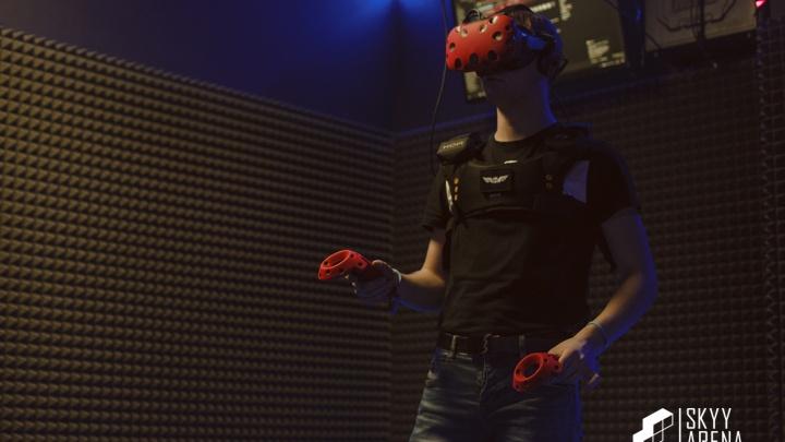 В виртуальную реальность можно попасть прямо из центра города