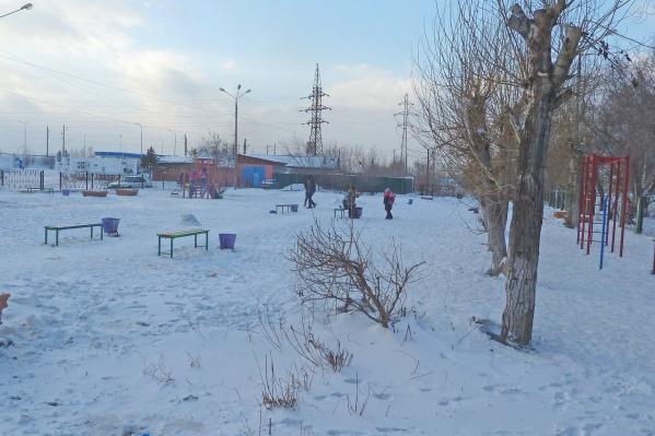 Сквер «Школьный» в Березовке, который также предложено благоустроить