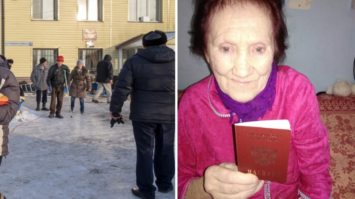 Пенсионерке, которая была в рабстве и затем попала в соццентр в Тюмени, восстановили документы