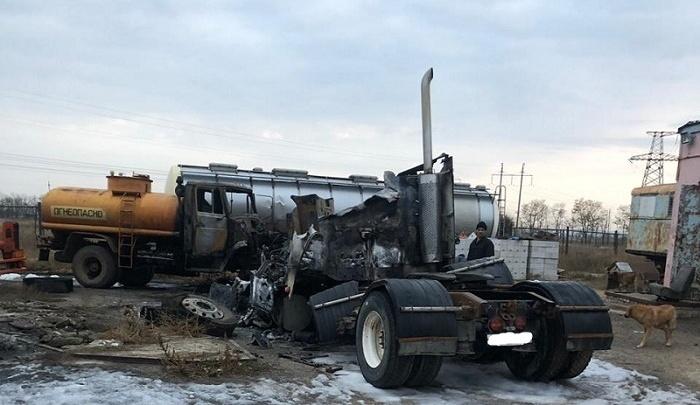 Выпил и решил отомстить: под Волгоградом задержали поджигателя трех грузовиков
