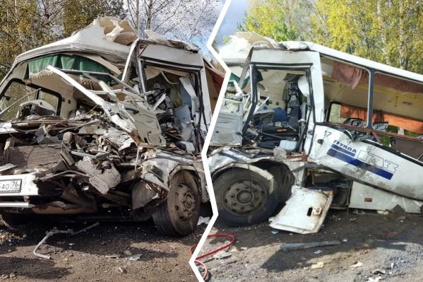 У водителя автобуса не было шансов выжить...