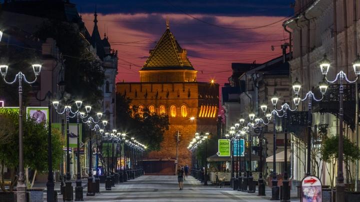Фото дня. Безмятежный Нижний Новгород