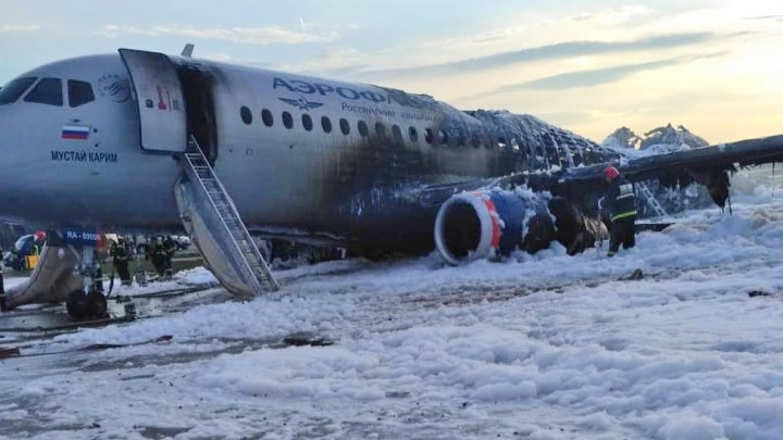 «Чтобы акцент с горя сместился на героизм пилотов»: уфимский блогер о сгоревшем самолете