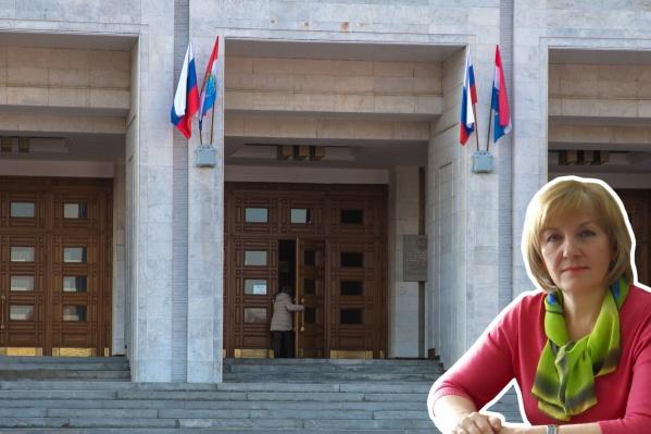 Антонина Зубкова возглавляет Счетную палату с 2014 года