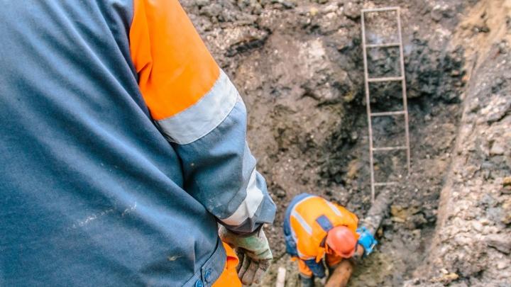 К микрорайону Волгарь построят новый водопровод