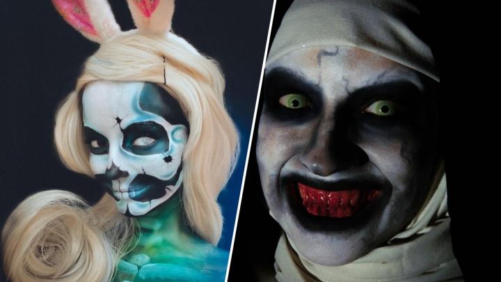 Страшно красивые: красноярские визажисты хвастаются своими работами к Хеллоуину
