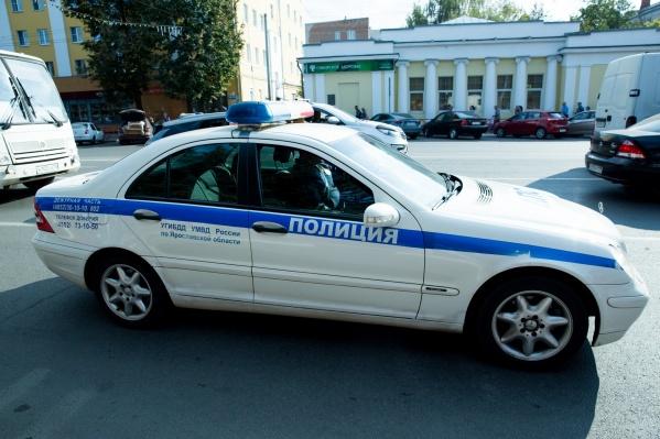 Полицейский стрелял из травматического оружия