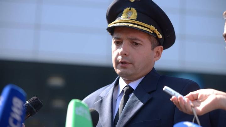 Летчик из Сызрани рассказывает, как посадил самолет в кукурузном поле: прямой эфир
