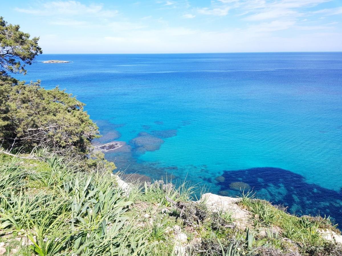 Первое, что больше всего впечатлило Алесю, — лазурное море