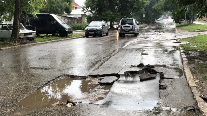Ремонт улицы Лейтенанта Шмидта в Самаре перенесут из-за ливня