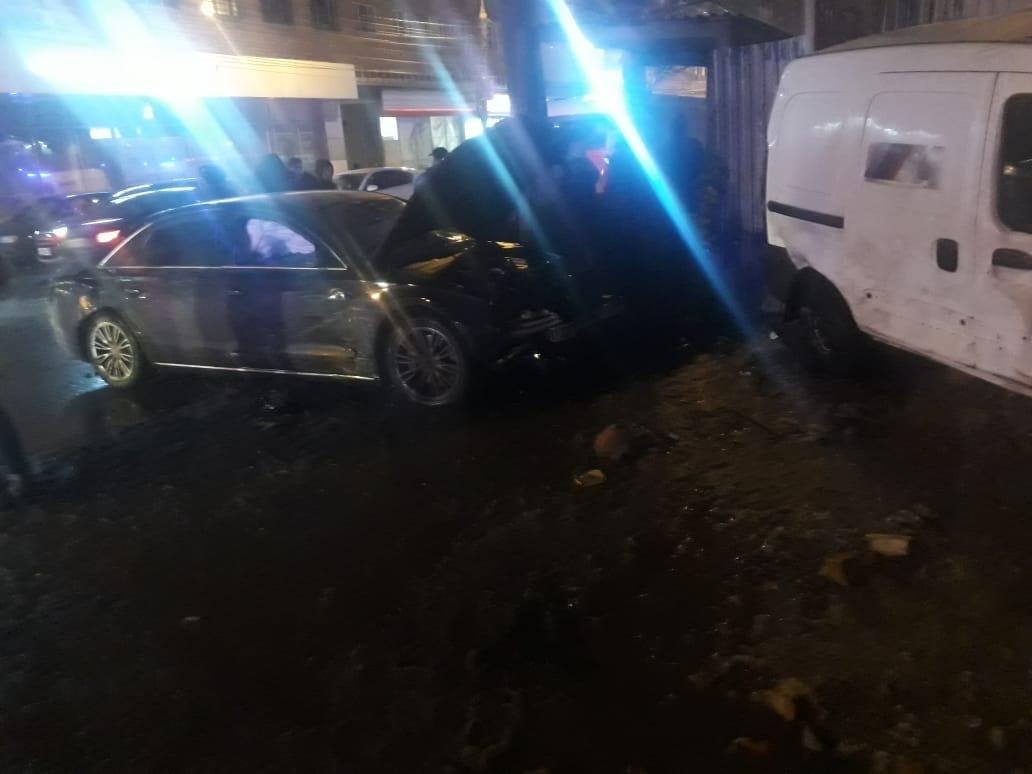 Массовое ДТП произошло прямо в центре Нижнего Новгорода