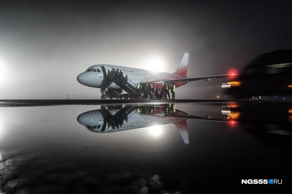 Среди задержанных были самолёты авиакомпаний «Уральские авиалинии»,«Северный ветер», «Сибирь» и другие