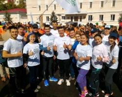 175 сотрудников Сбербанка присоединились к Уфимскому международному  марафону