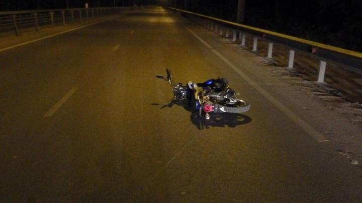 Катался без прав: на Демском шоссе в Уфе разбился 35-летний мотоциклист