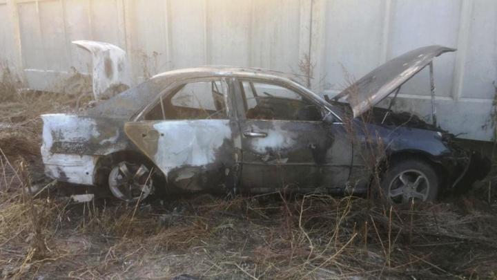 Стала известна предварительная причина смерти водителя сгоревшей «Тойоты»
